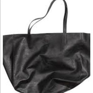H&M slouchy black bag